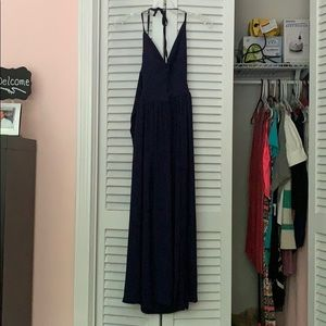 Brand New Navy Maxi Dress
